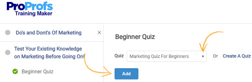 Add a Graded Quiz to an Online Course