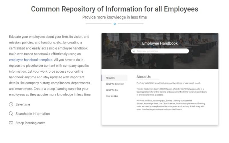 Excellent Employee Handbook