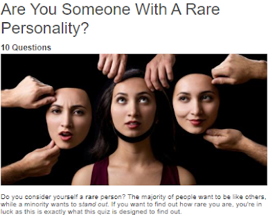 Rare personality