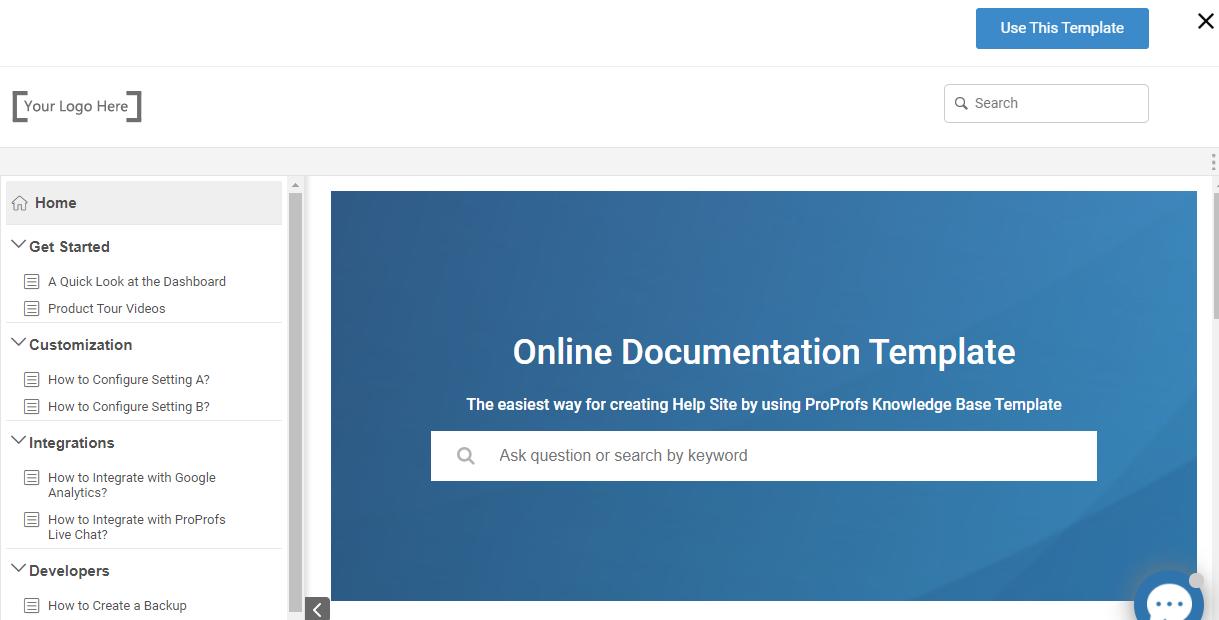 Free Documentation Templates