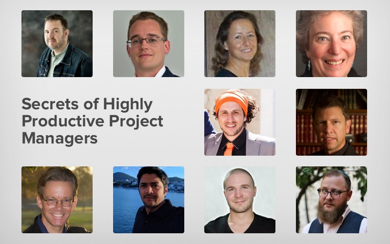 Productive project managers