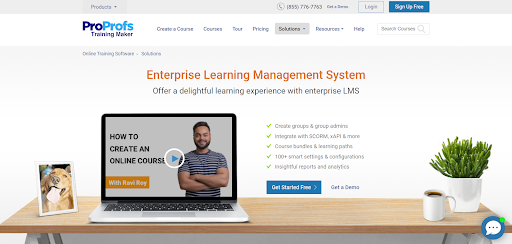 ProProfs Enterprise LMS