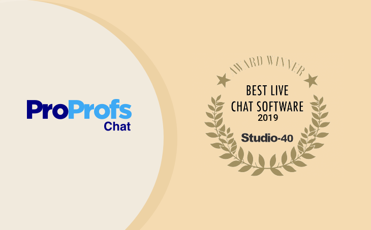 best live chat software award