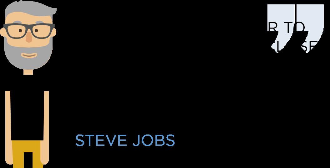 Steve Jobs on customer satisfaction