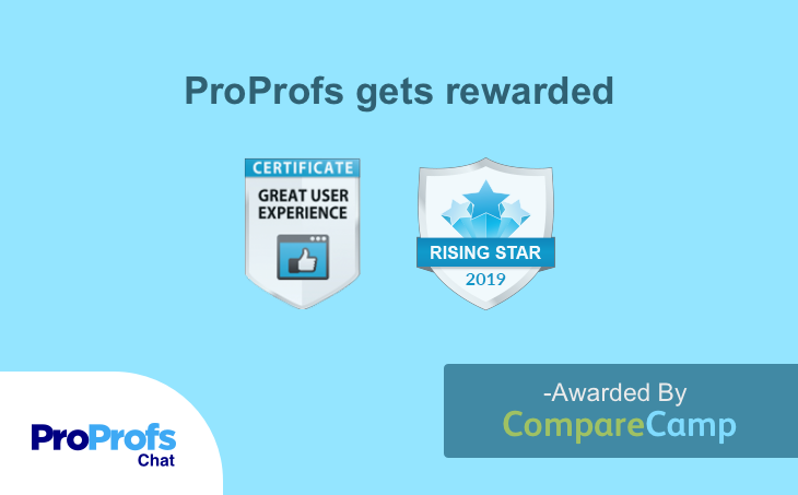 comparecamp awards to proprofs