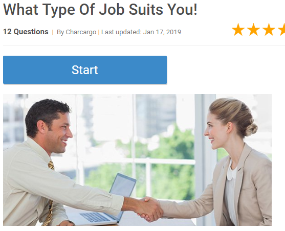 What Type Of Job Suits You