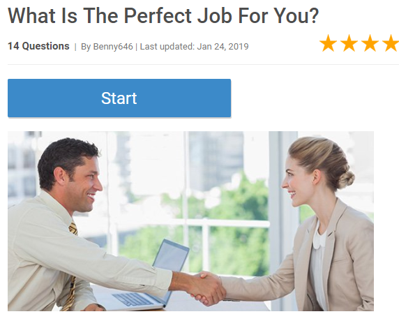 What is The Perfect Job For You