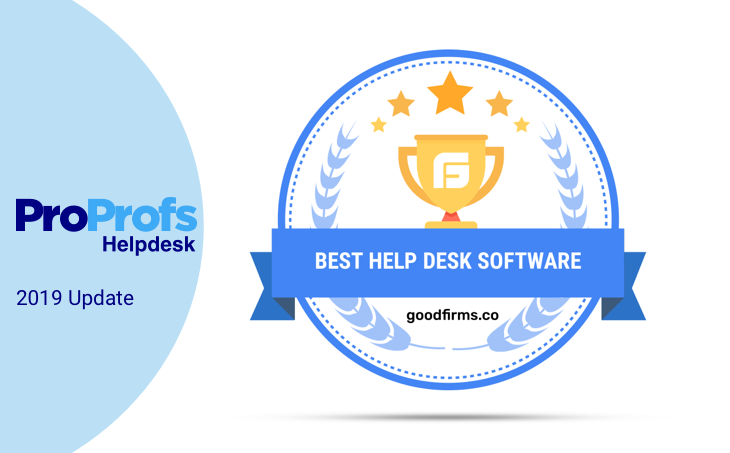 GoodFirms Ranks ProProfs Help Desk