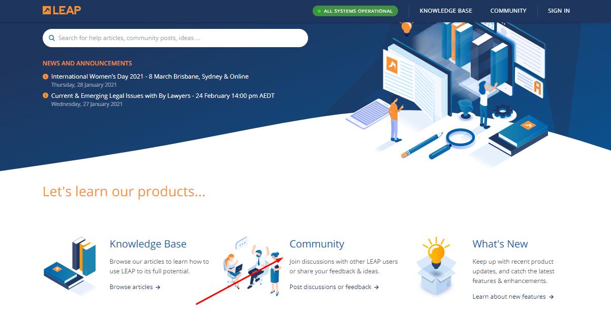 leap community Center