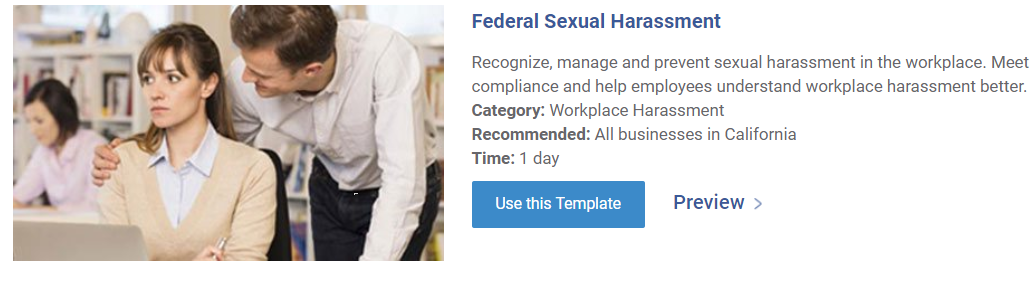 Federal Sexual Harassment