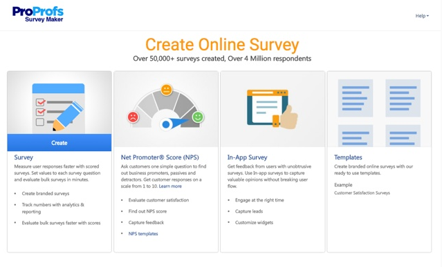 Get feedback with survey maker software