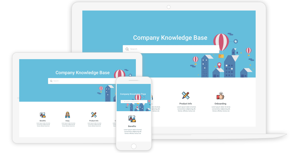 Free Company Knowledge Base Template