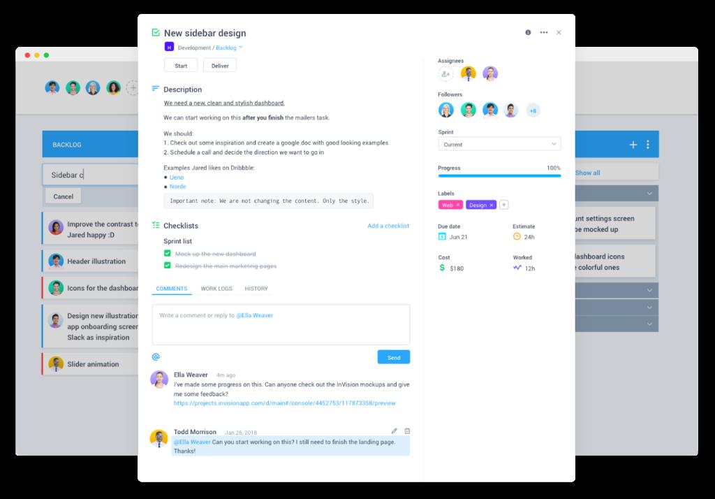 New Task View PopUP -Hubstaff Task