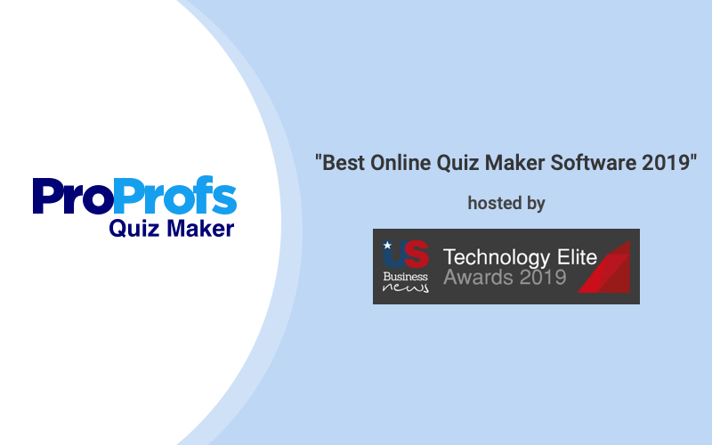 Best Quiz Maker Business Technology Elite Awards