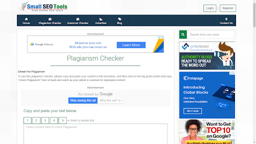 Smart SEO Tools Plagiarism Checker