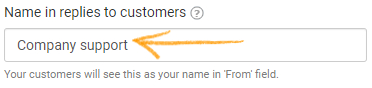 Customer support inbox