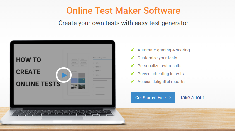 online test maker software