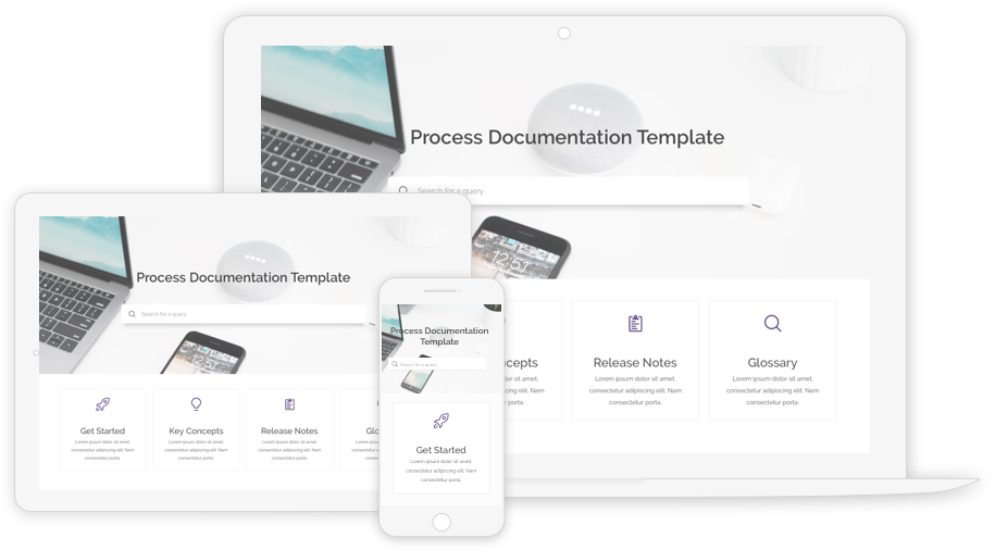process documentation templates for business
