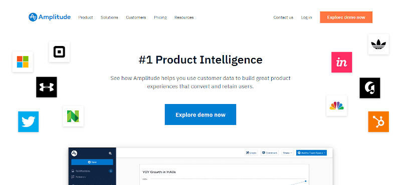 Amplitude- product analytics tool