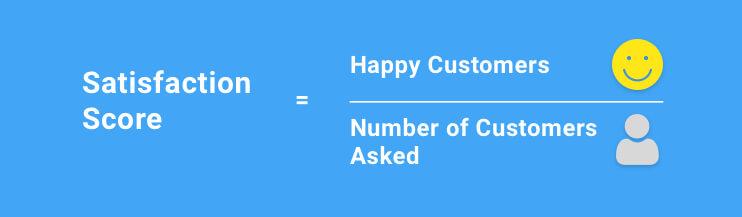 Customer Satisfaction Score Formula