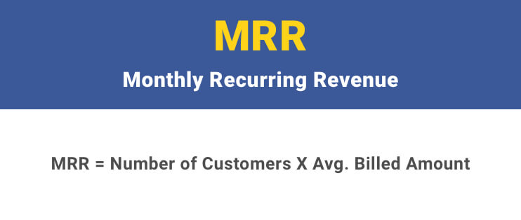 Monthly Recurring Revenue Rte Formula