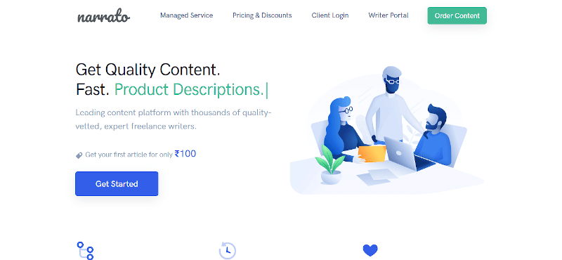 Narrato.io -content creation tool