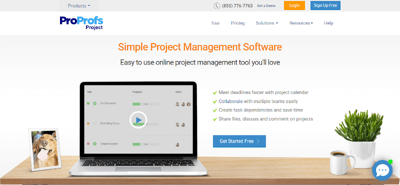 proprofs-project-project-management-tool