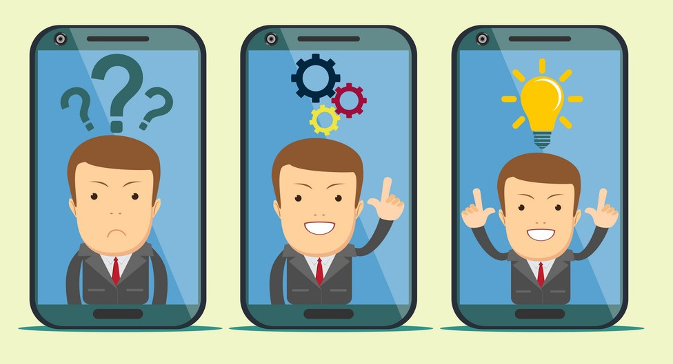 handle customer support with your smart phone