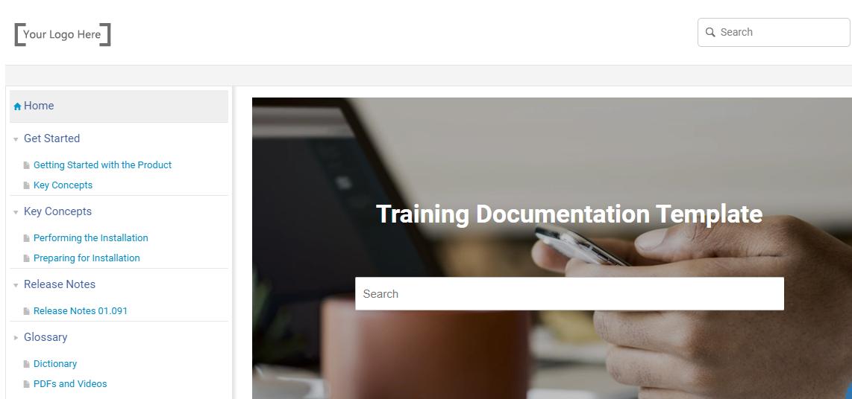 Free training documentation templates