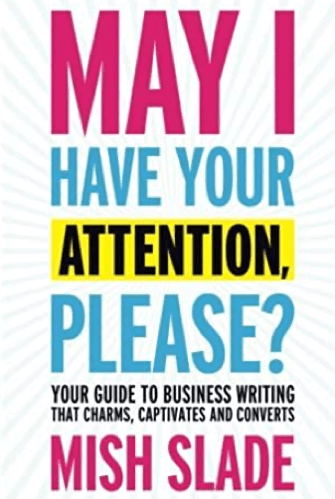 May I Have Your Attention, Please? Book