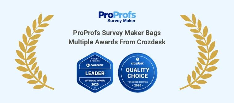 ProProfs Survey Maker Awards