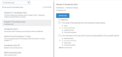 Quiz Template