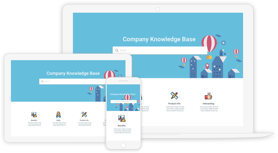 Use knowledge base on every device
