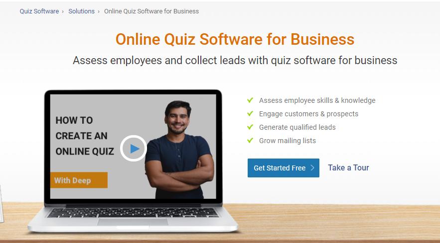 enterprise quiz maker