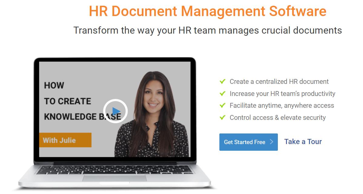 HR Document Management Software