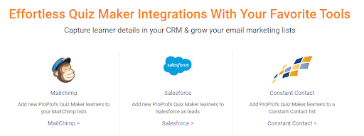 Integration with Marketing Automation Tools
