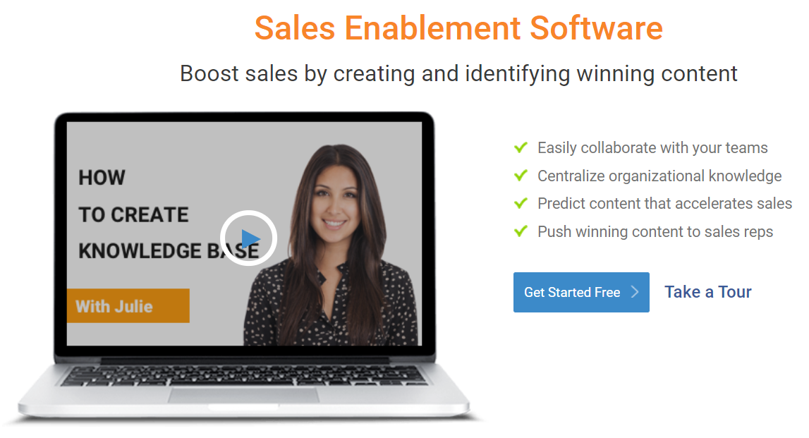 ProProfs sales enablement software