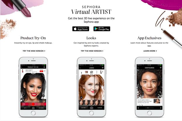 Sephora virtual artists