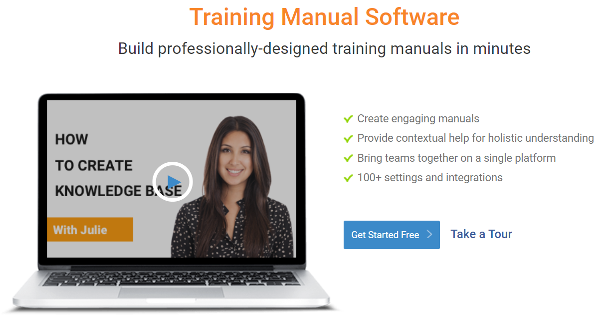 training manual software