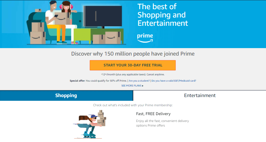 Amazon loyalty program