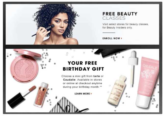 Sephora's Beauty Insiders loyalty program