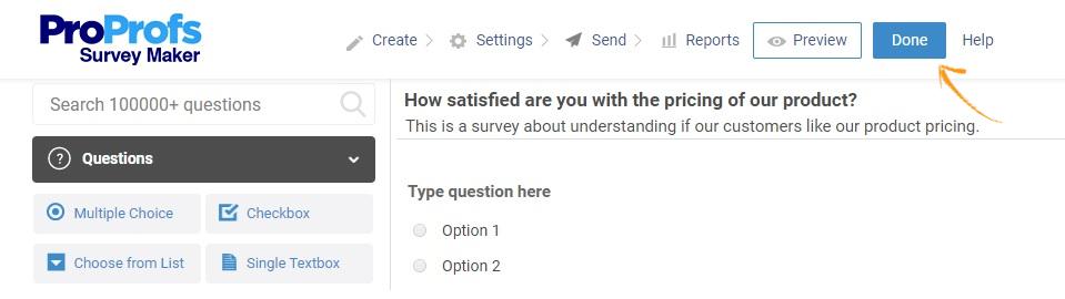 In-App Survey Is Ready