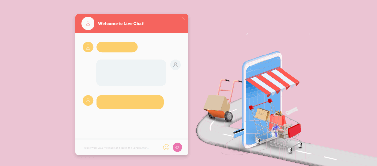 live chat helps to avoid cart abandonment during holidays