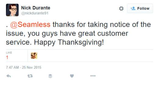 Seamless social media customer service