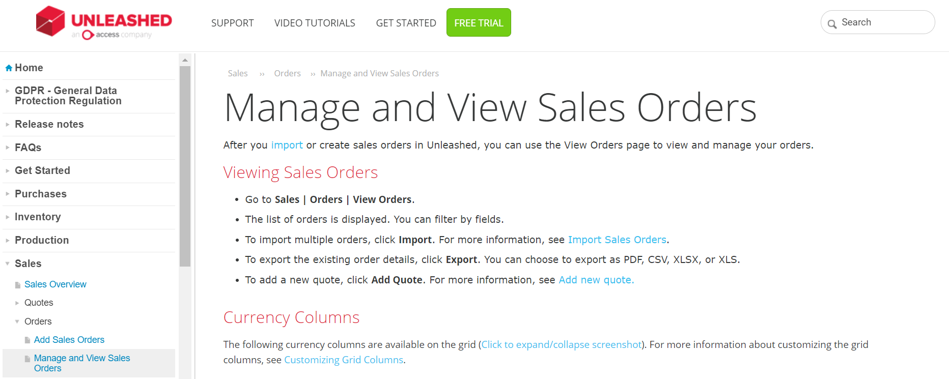 self-service knowledge base examples