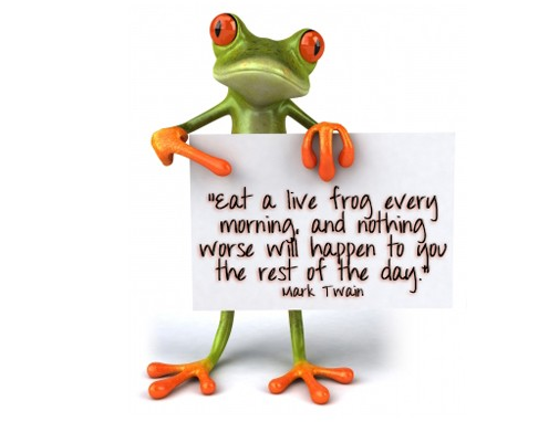 Eat the Frog Method to Prioritize task