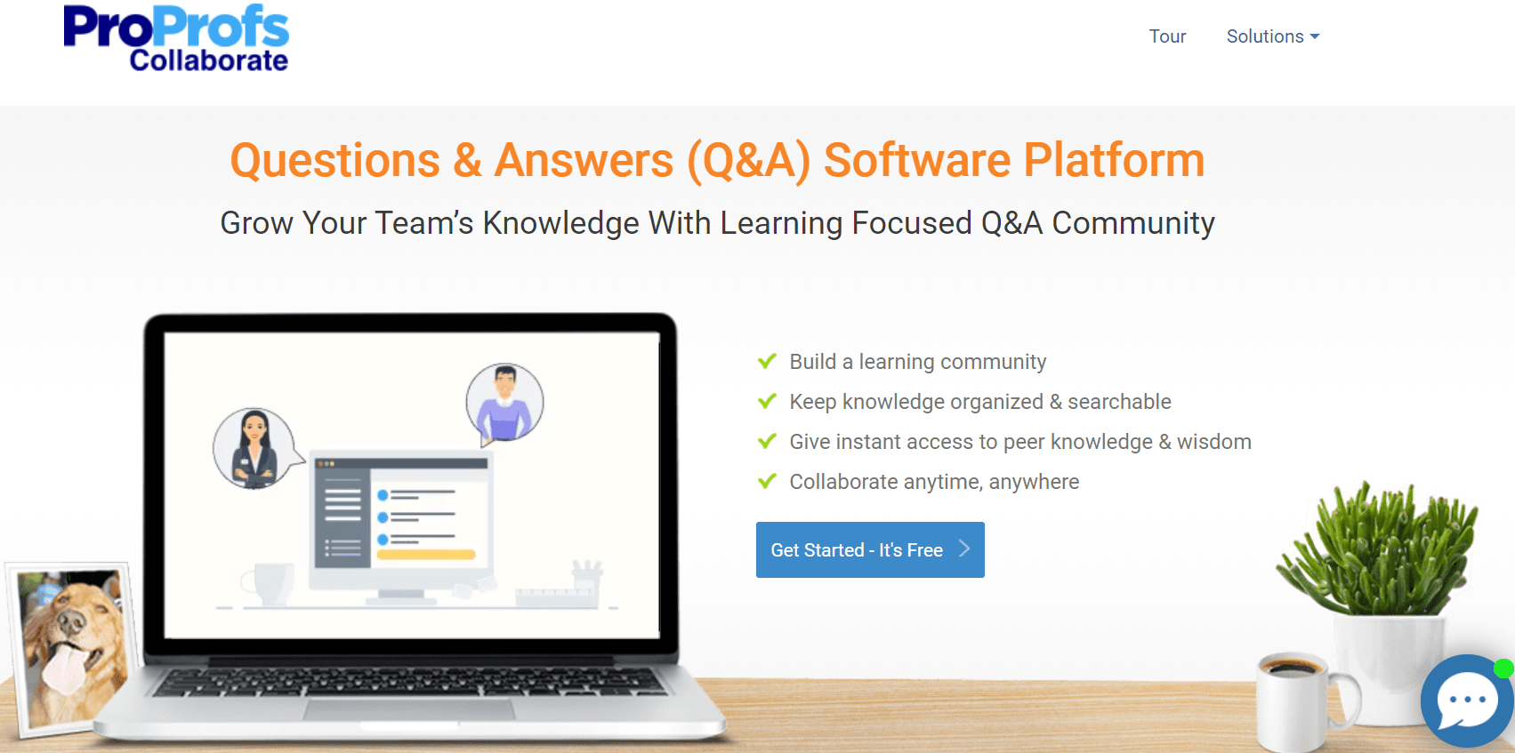 ProProfs Collaborate Software
