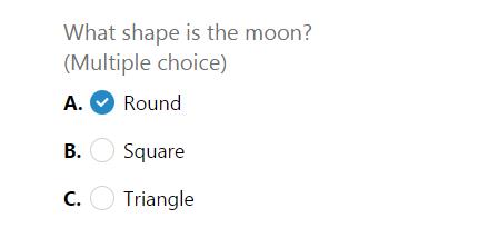multiple-choice