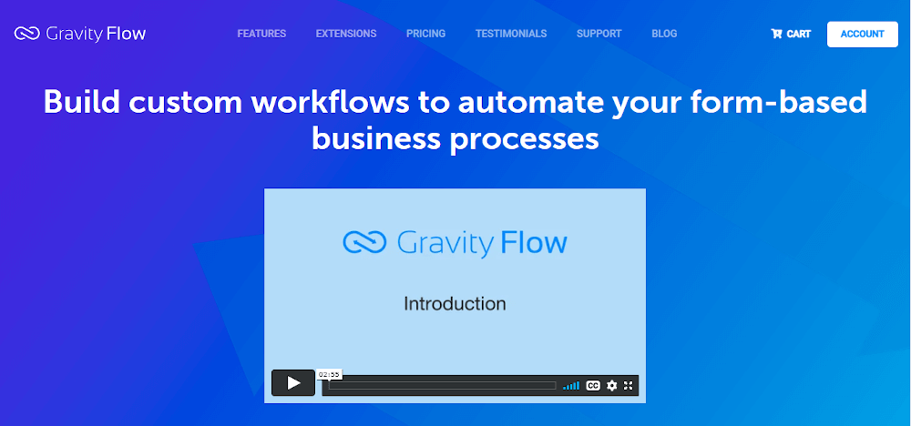 Gravity Workflow Management Software