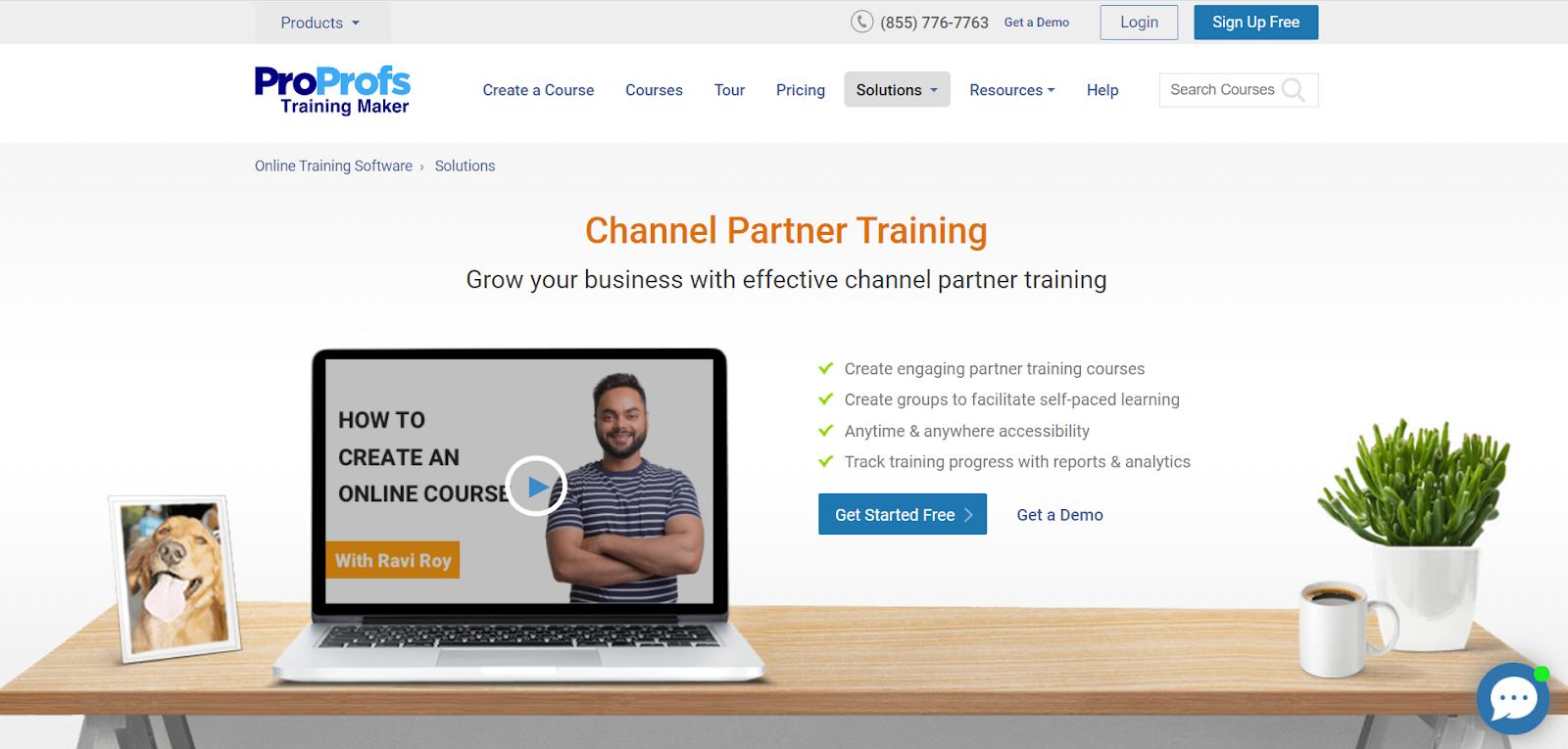 ProProfs Channel Partner Training